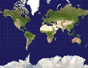 O mundo segundo Mercator